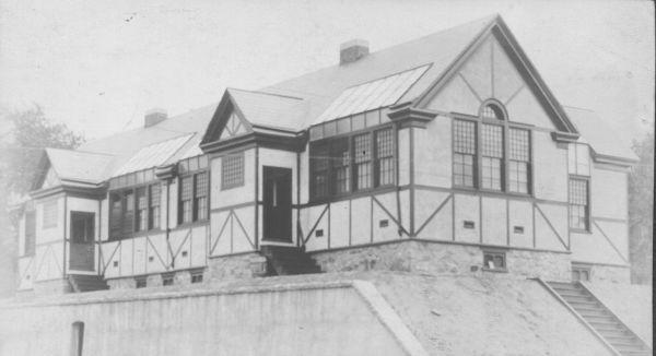 Exterior of Studios C. 1910