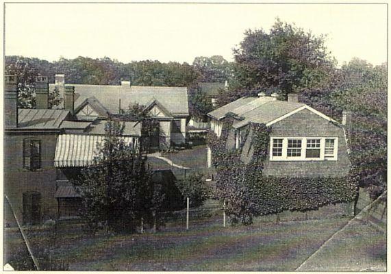 Studios C. 1948 showing carriage house ( Hoskins studio )